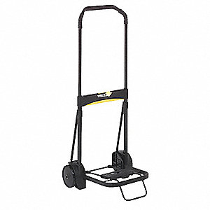 "Luggage Cart, Continuous Frame, 200 lb., Overall Width 5"", Overall Height 39"""