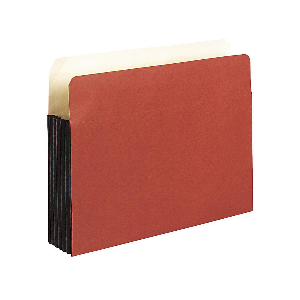 1 Pocket Redrope Expandable File Folder, Redrope