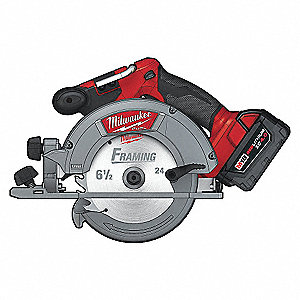 CIRCULAR SAW KIT 18V 6-1/2IN