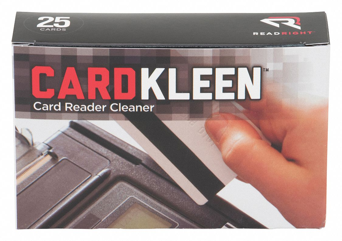 Card Reader Cleaner, Recommended For Access Control/ID Cards, Credit Card Readers