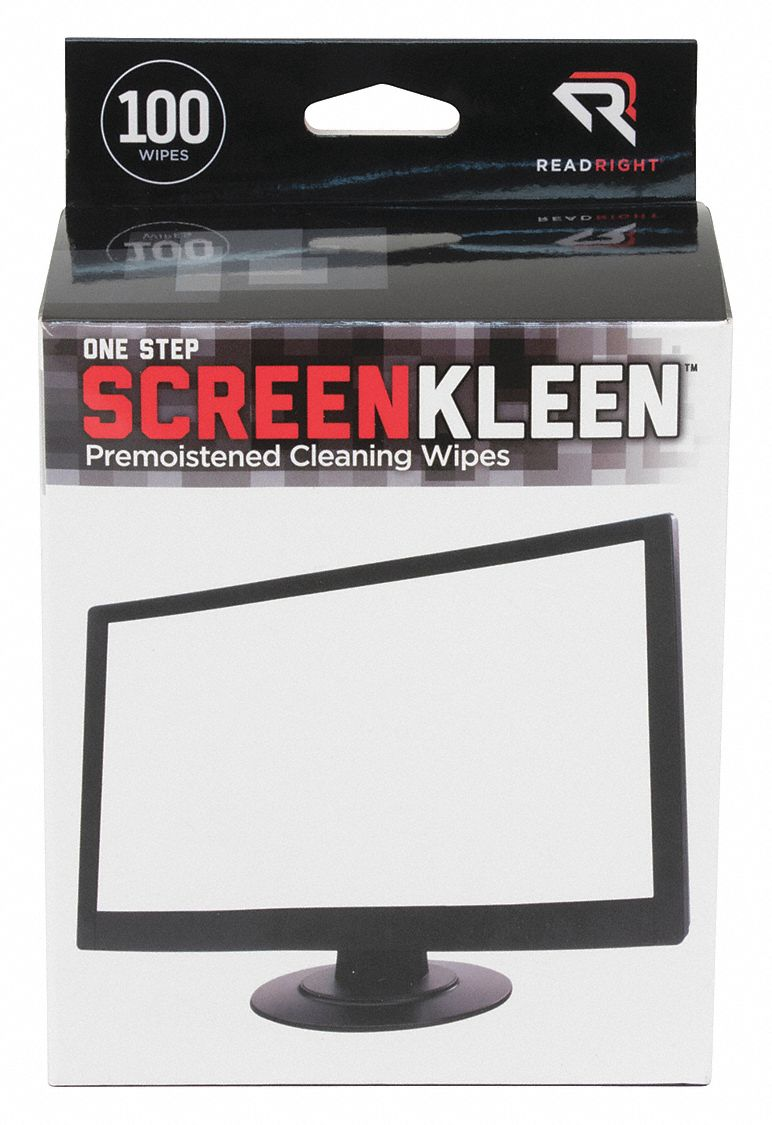 Screen Pad Wipes, Recommended For Screens