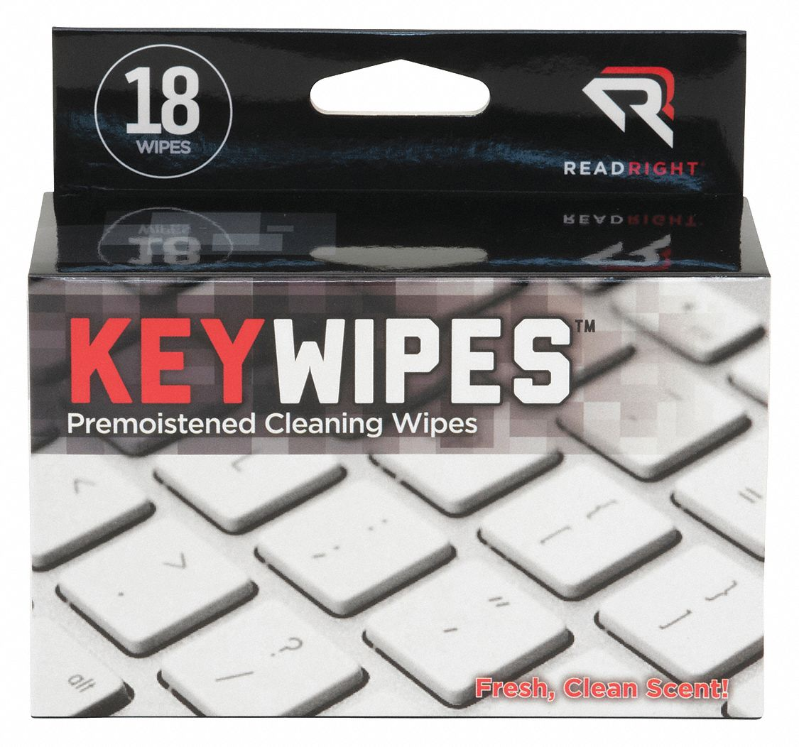 Disinfecting Wipes, Recommended For Keyboards
