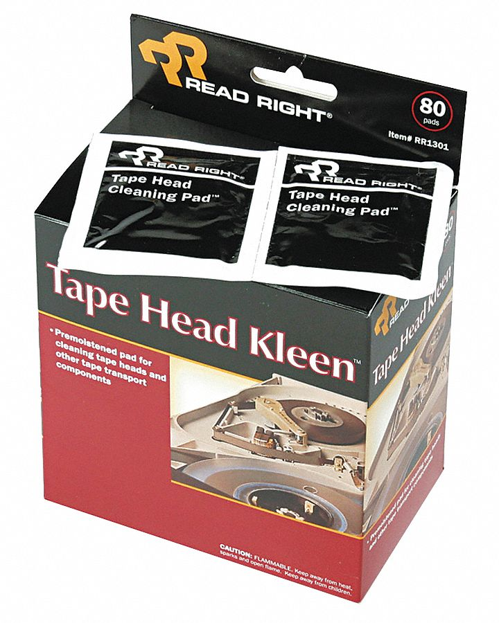 Cleaning Wipes, Recommended For Tape Heads