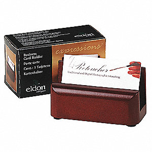 Business Card Holder,Mahogany,Solid Wood