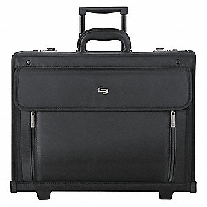 Polyvinyl Catalog/Laptop Case, Black