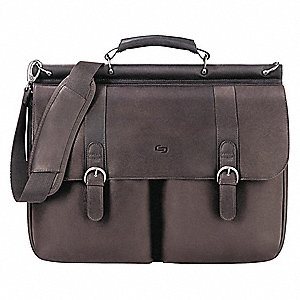 "Leather Laptop Case for Laptop Up to 16"", Espresso"