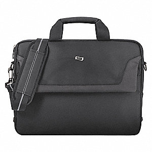 "Polyester Laptop Case Fits Laptop Up to 16"", Black"