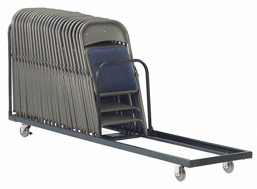 Folding And Stacking Chair Carts