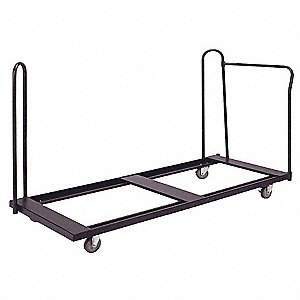 Folding Table Cart,76x31x49,16 Tables