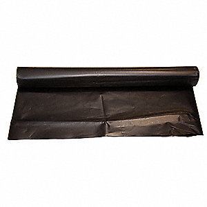 "750 ft. Lay Flat Duct with 8"" Dia., Black; Use With 8"" Fan And Blower"