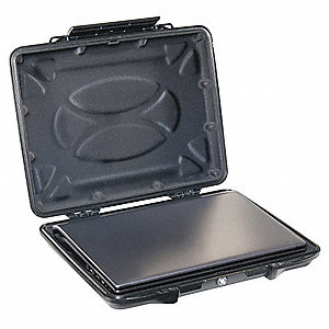 "ABS Hardback Laptop Case with Liner for 14"" Laptops, Black"