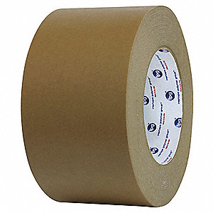 "Masking Tape, 60 yd. x 3"", Brown, 7.3 mil, Package Quantity 16"