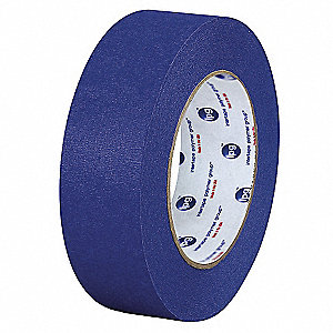 "Masking Tape, 60 yd. x 4"", Blue, 5.5 mil, Package Quantity 12"