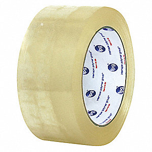 Polypropylene Carton Sealing Tape, Hot Melt Resin Adhesive, 72mm X 55m, 24 PK