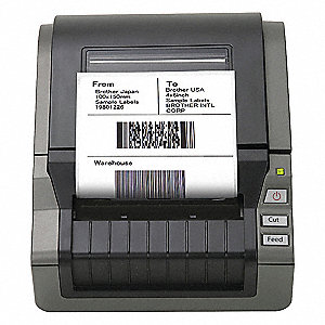 Label Printer,6-5/7 In. W,5-4/5 In. H