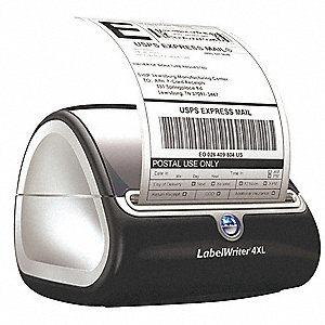 Label Printer,7 In. W,5-1/3 In. H
