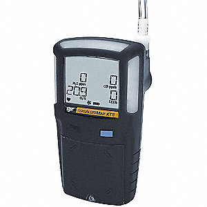 Multi-Gas Detector,O2/LEL/H2S/CO,BR,Blk