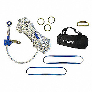 TEMP HLL 60FT KERNMANTLE ROPE
