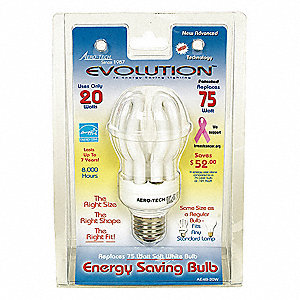 "4-3/4"" Soft White Spiral Screw-In CFL, 20 Watts, 1280 Lumens"