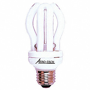 "3-3/4"" Very Cool Spiral Screw-In CFL, 11.0 Watts, 545 Lumens"