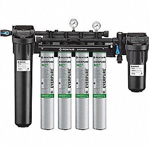 Pentair everpure filter system 6 7 gpm 23mu18 ev943710 for Pentair everpure water filter