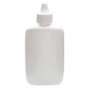 Wide Mouth Oblong Spray Bottle, Spray, Plastic, 60mL, White, 144 PK