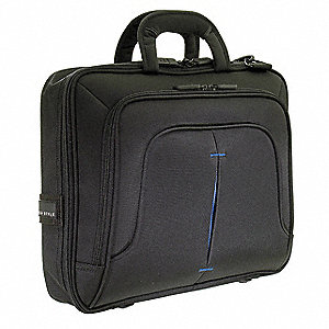 "Nylon Laptop Case Fits Laptops up to 16.1"", Black"