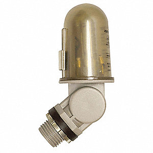 "Photocontrol, 480VAC Voltage, 7500 Max. Wattage, 180° Swivel, 1/2"" Conduit Mounting"