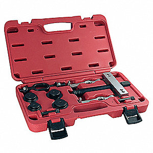 Bearing Puller Set,7 ton,2 Jaws,Steel