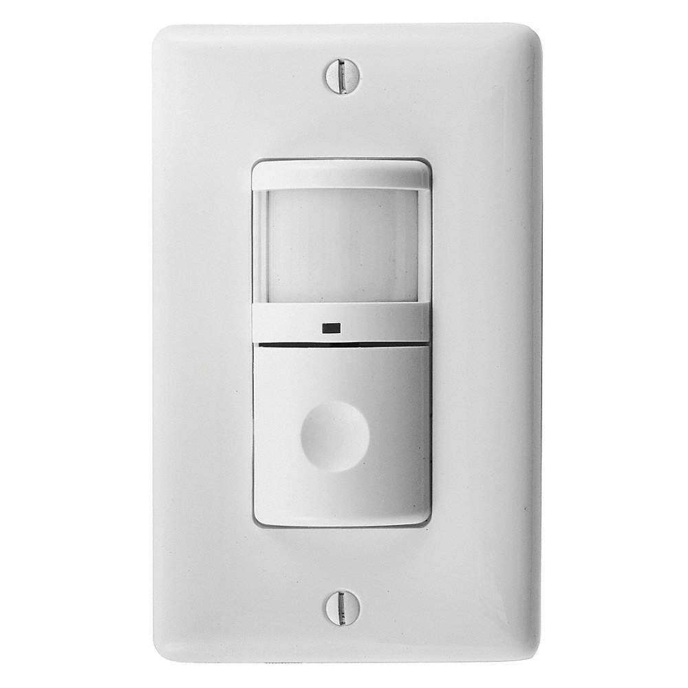 Hubbell Wiring Device Kellems Wall Switch Box Hard Wired Motion Sensor 1 200 Sq Ft Passive Infrared White 23ny61 Ws2000w Grainger