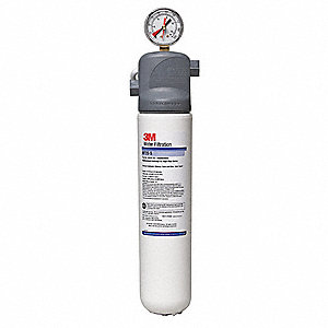 "3/8"" NPT Polypropylene Water Filter System, 1.5 gpm, 125 psi"