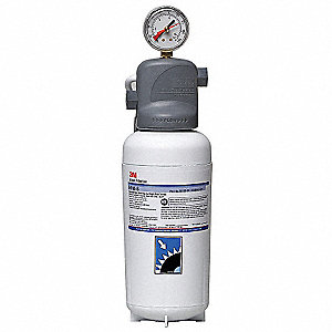 "3/8"" NPT Polypropylene Water Filter System, 2.1 gpm, 125 psi"