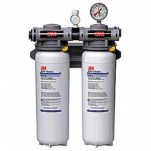 "3/4"" NPT Polypropylene Water Filter System, 6.68 gpm, 125 psi"