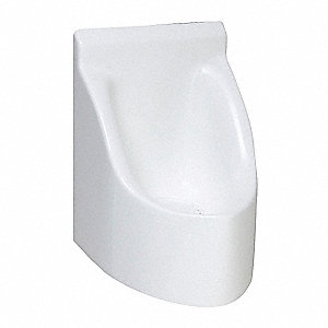 Waterless Urinal,15 In.,HPC,Fiberglass