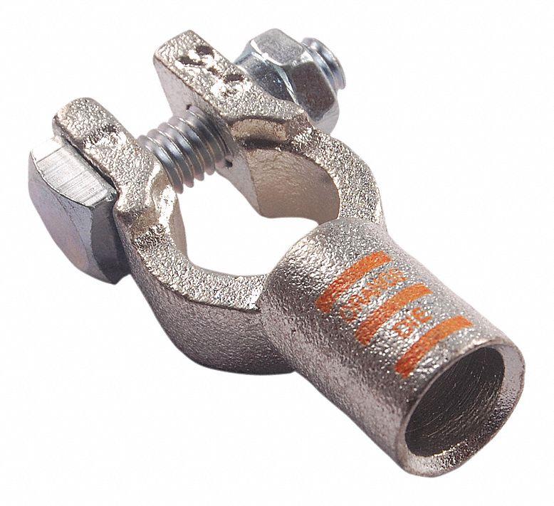 QUICKCABLE 4020-005N Clamp Crimp,Neg,2//0,PK5
