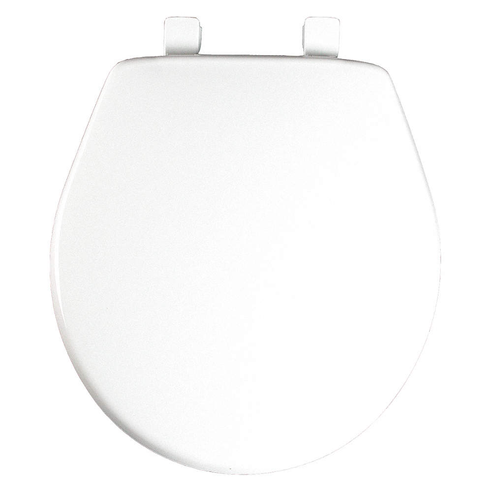 Admirable Round Standard Toilet Seat Type Closed Front Type Includes Cover Yes White Caraccident5 Cool Chair Designs And Ideas Caraccident5Info