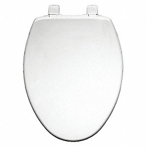 Toilet Seat,Closed Front,18-5/8 In