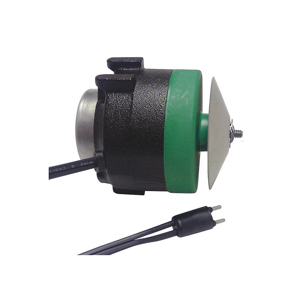 ECM Unit Bearing Motor, 9 Output Watts, 1650 Nameplate RPM, 115 Voltage,  Frame: Non-Standard