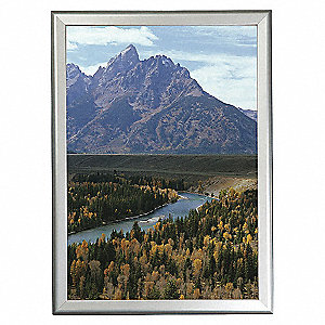 Flexikrome Snap Frame Silver 17 X 22 Document And Poster Frames