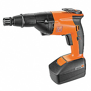 "1/4"" Cordless Screwdriver Kit, 18.0 Voltage, Battery Included"