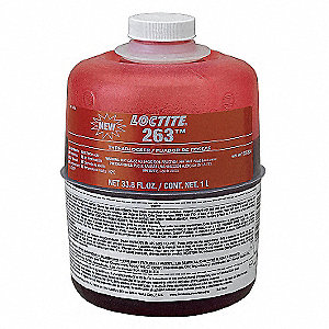 Threadlocker 263,1L Bottle,Red
