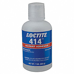 Instant Adhesive,1 lb. Bottle,Clear