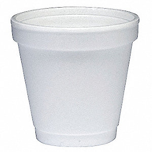 Disposable Hot Cup,4 oz.,White,PK1000