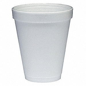 Disposable Hot Cup,10 oz.,White,PK1000