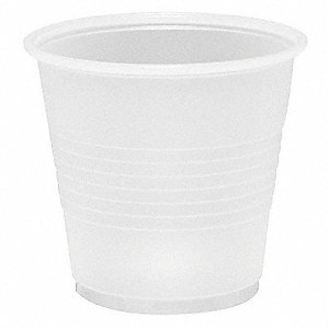 3.5 oz. Plastic Disposable Cold Cup, Clear, 2500 PK