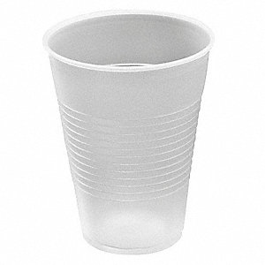 9 oz. Disposable Cold Cup, Plastic, Clear, PK 2500