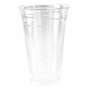 Disposable Cold Cup,24 oz.,Clear,PK600