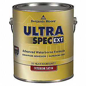 Exterior Paint,Satin,1 gal,Sweet Pear