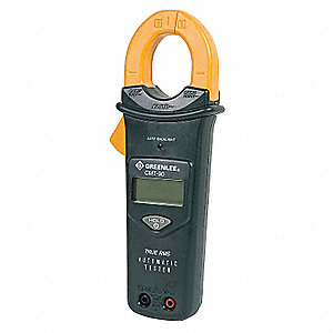 "Clamp On Digital Clamp Meter, 1.3"" (33mm) Jaw Capacity, CAT IV 600V, CAT III 1000V"