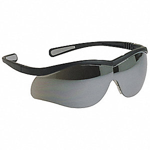 Lightning Anti-Static, Scratch-Resistant Safety Glasses, Clear Mirror Lens Color